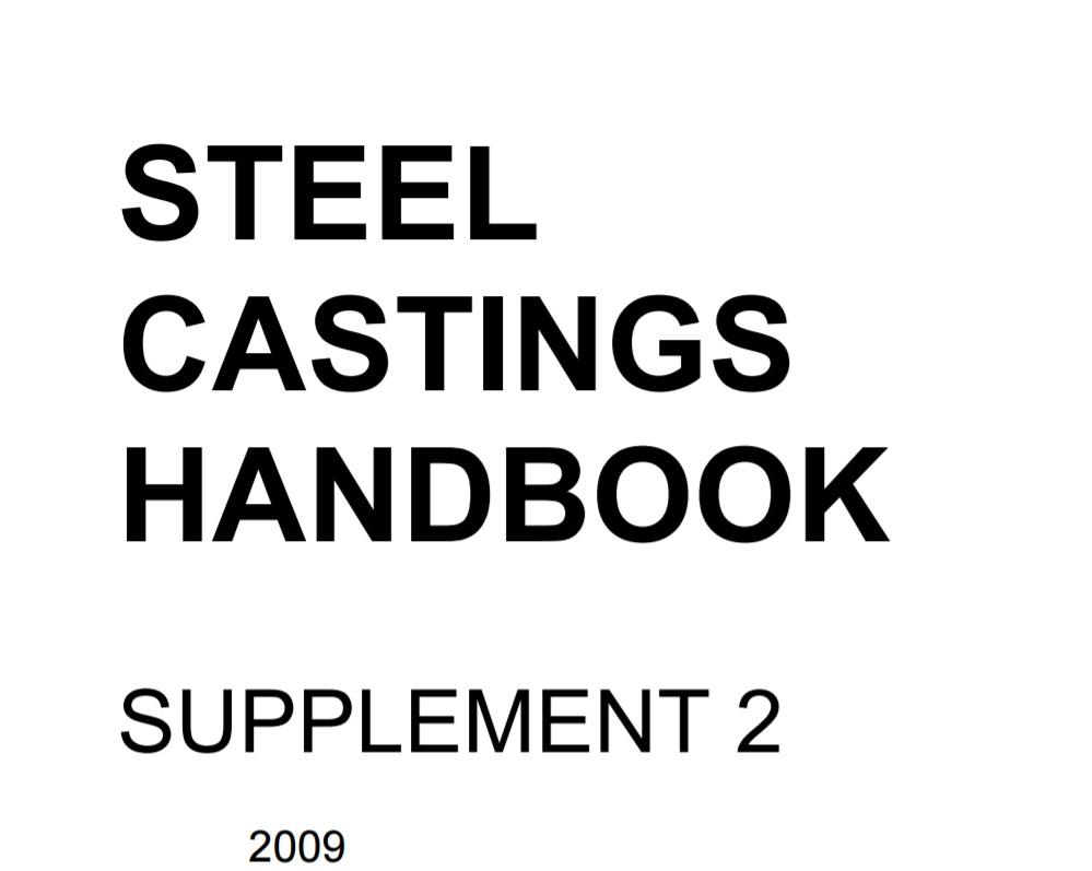 Steel Castings Handbook Supplement 2